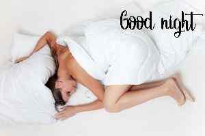 beautiful girl pic of good night