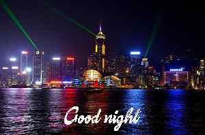 beautiful lighting good night caption wallpaper