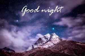 beautiful nature good night photo