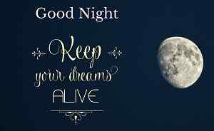 cool good night quotes HD image