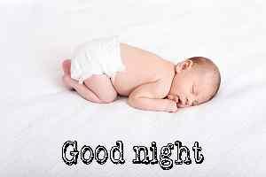 cute baby good night photo