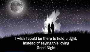 romantic good night image HD