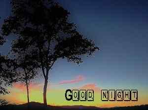 top nature good night wallpaper