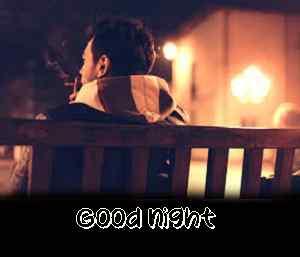 top photo of good night caption