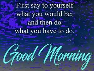 Good morning inspirationa lmessage image download