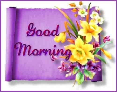caption with pic of good morning for friend