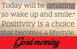 top message with good morning picture