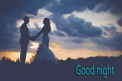 couple image of good night download