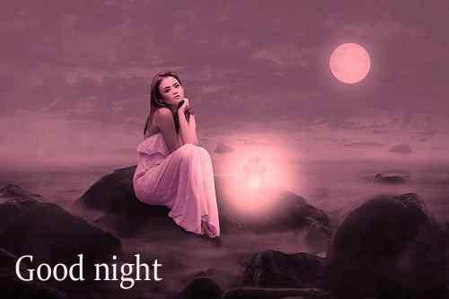 sad girl with good night download
