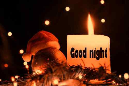 candal picture with good night free download