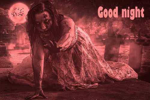 horror image of good night download